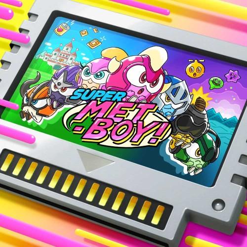 SUPER METBOY! switch box art