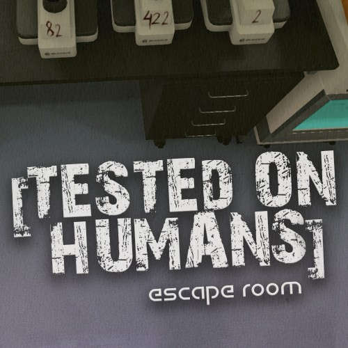 Tested on Humans: Escape Room switch box art