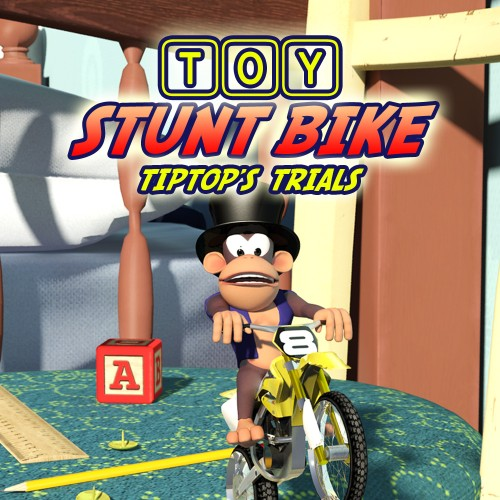 Toy Stunt Bike: Tiptops Trials