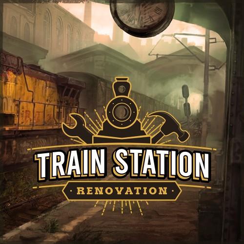 Train Station Renovation switch box art
