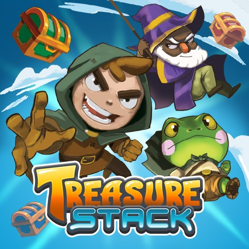 Treasure Stack switch box art