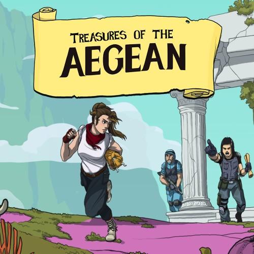 Treasures of the Aegean switch box art