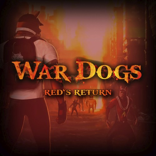 War Dogs: Red's Return switch box art