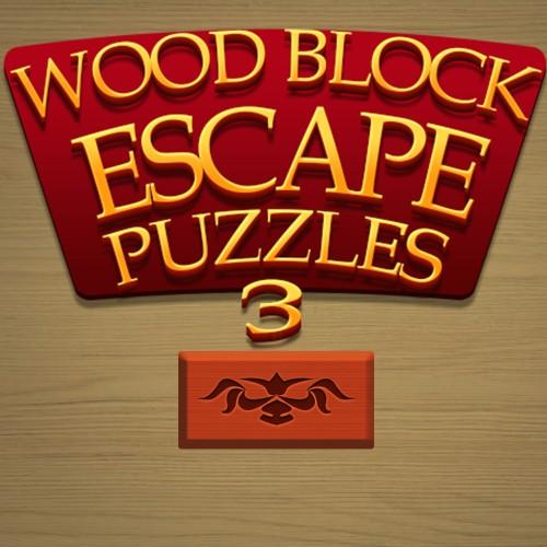 Wood Block Escape Puzzles 3 switch box art